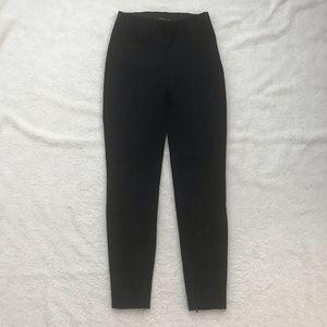 Zara Black Suede Pants